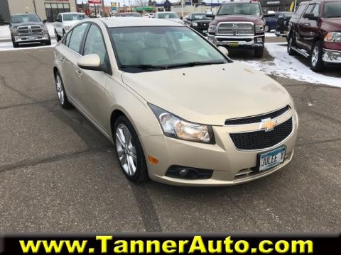 Pre-Owned 2011 Chevrolet Cruze 4dr Sdn LTZ
