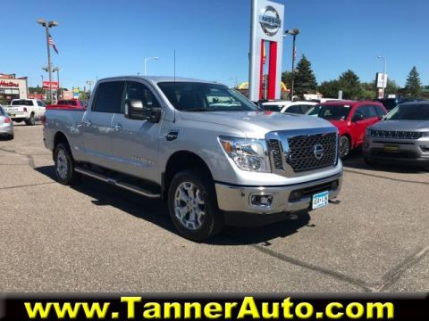 Pre-Owned 2017 Nissan Titan XD 4x4 Gas Crew Cab SV